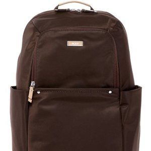 NWT Tumi Anodra Brown Nylon Backpack